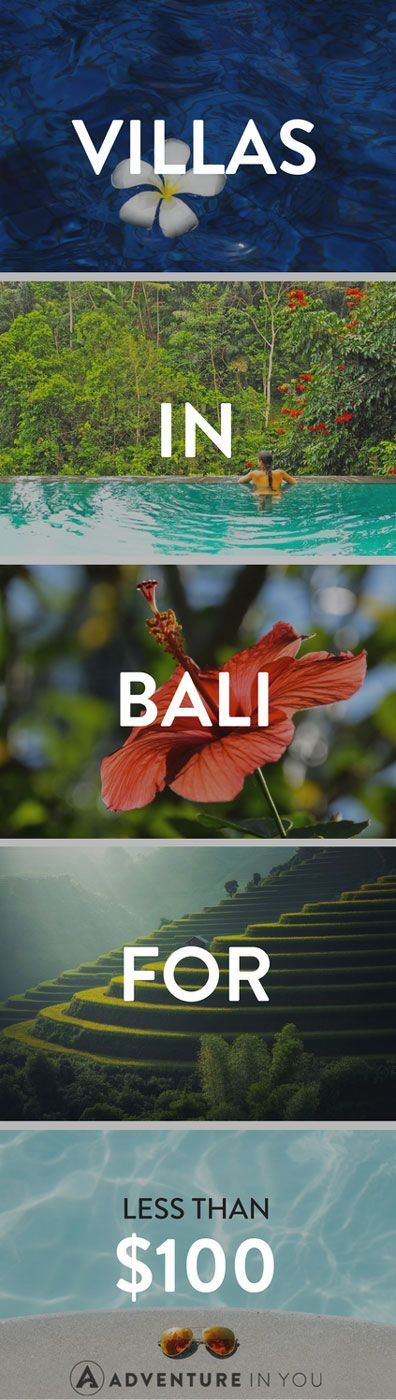 Bali Villas | Looking for kickass villas to stay in while in Bali without breaking the bank? Check out our list of the best villas in Bali for under $100!
