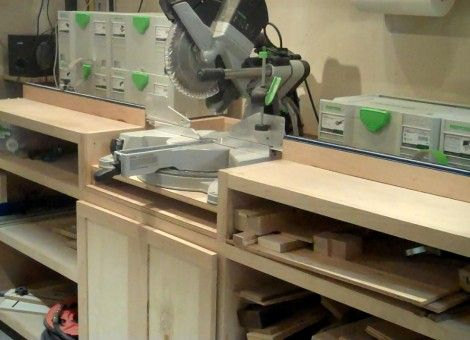 Ultimate Miter Saw Stand Woodworking Projects Amp Plans