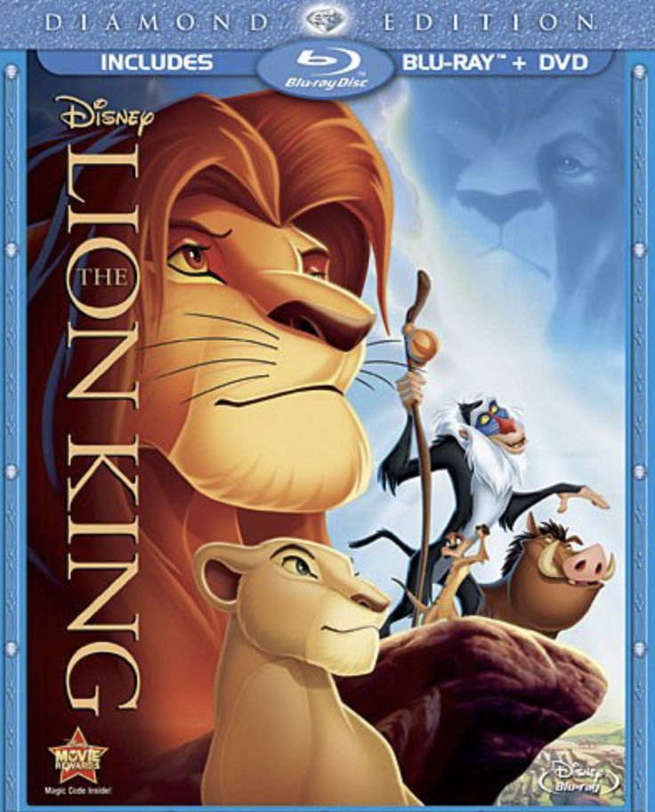 The Lion King Blu-Ray + DVD Movie + Free Shipping Too