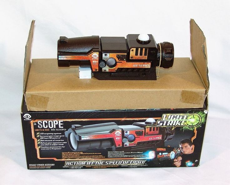 Wowwwee Light Strike Scope Laser Tag XR Series LED Targeting System! #WowWee