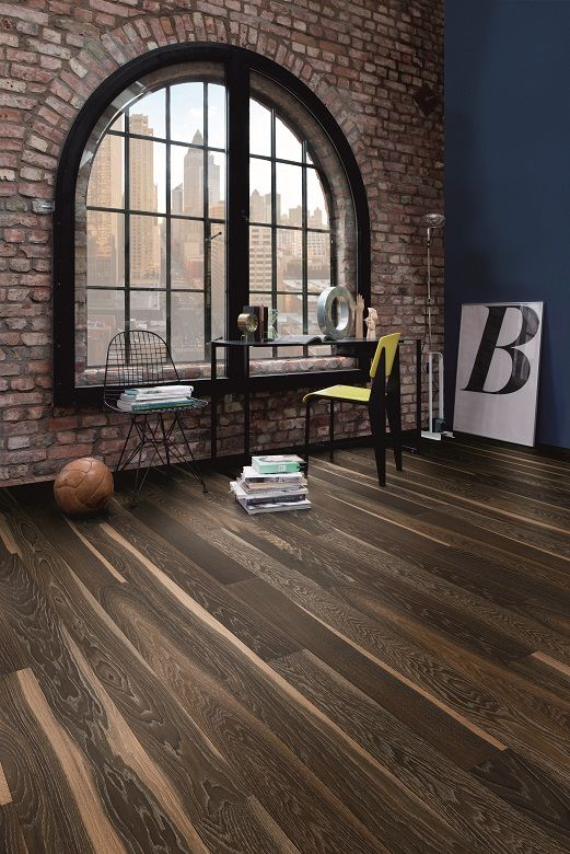 Warm wood, organic lines and the fun of the functionals. BOEN Parkett.