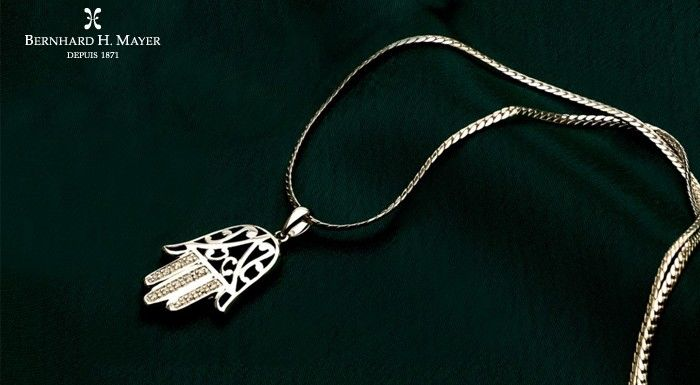 Hamsa Pendant from Bernhard H. Mayer