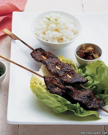 Korean Short Rib Kebabs - Martha Stewart Recipes