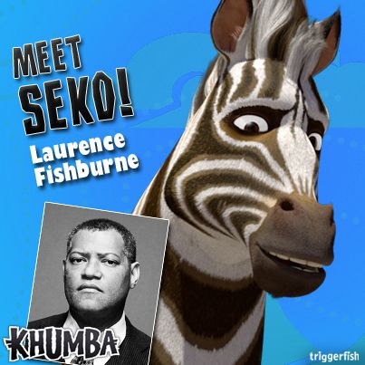 Laurence Fishburne is SEKO, Khumba's father. Seko is strong, and is held in high regard by the rest of the herd (except for his rival Thabo). When the herd reaches crisis point, will Seko find the strength to 'free' the herd? Can he overcome all he has lost? Don't miss @LaurenceFishburne in Khumba! www.khumbamovie.com