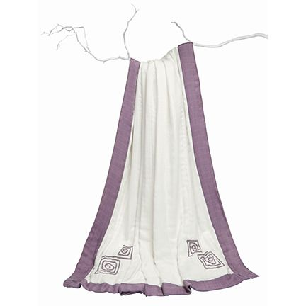 #madeformum giveaway entry: purely plum rayon from bamboo fiber muslin daydream blanket by @Allison Dencker + anais