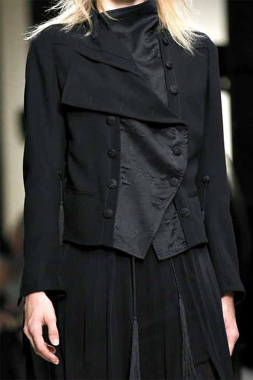 ann demeulemeester spring 2012 An idea for enlarging a jacket that is too snug?