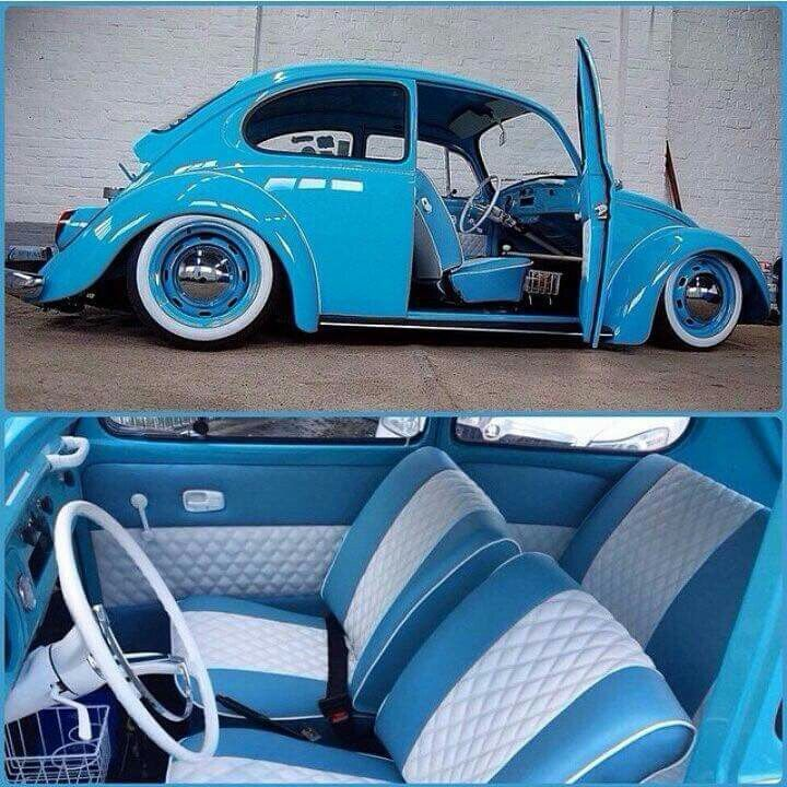 Blue beetle  Fusca  VW