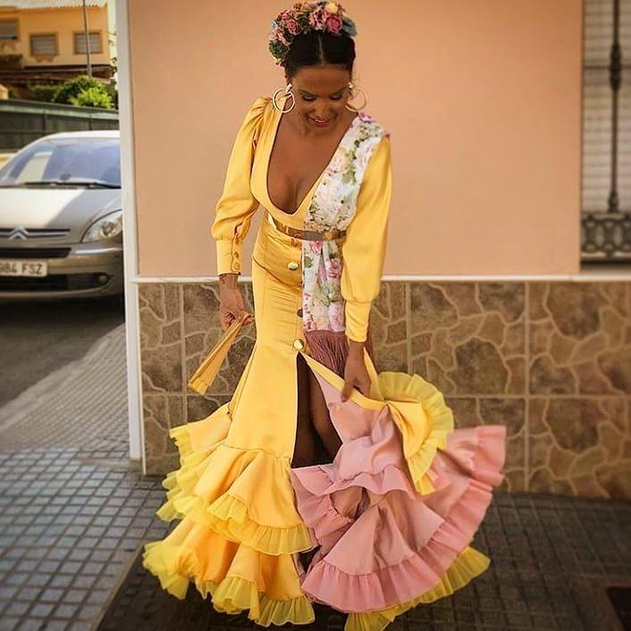 6f218cdce 👠 @oleee.flamencas 👠 * * * * * Diseño ✂   Flamenco en 2019 ...