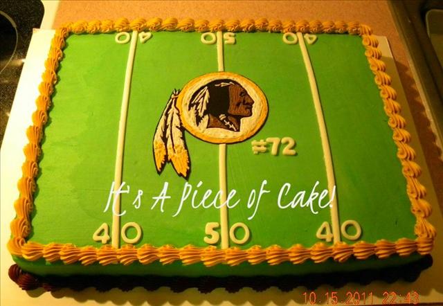 Redskin cake  https://www.facebook.com/ItsAPieceofCakeWV