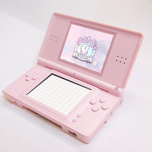 pink, nintendo, aesthetic