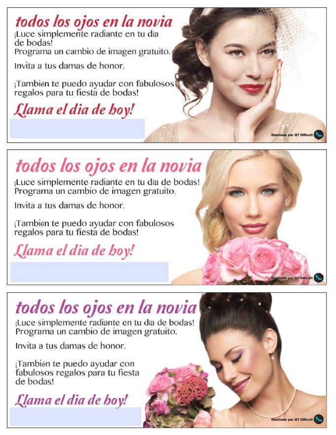 Mary Kay® Bridal Flyer in Spanish!