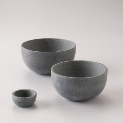 Concrete  Bowls / Planters - Simple and Beautiful