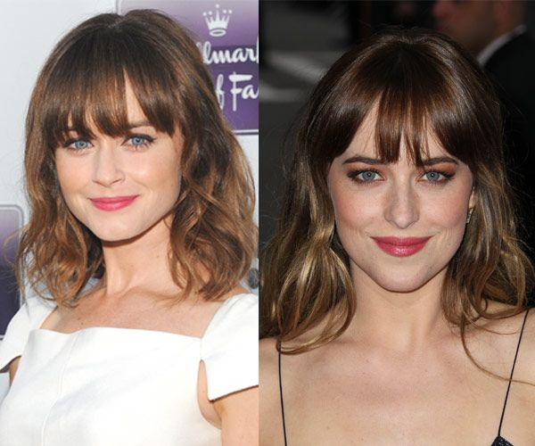 Celebrity Look A Likes: Alexis Bledel and Dakota Johnson