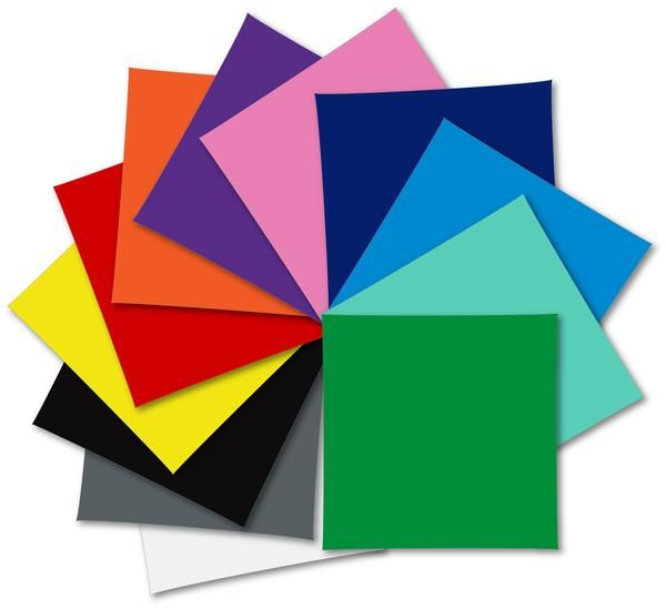 Oracal 751 Vinyl Sample Pack 12 X 12 12 Assorted Colors Swing Design Oracal 751 Vinyl Oracal Vinyl