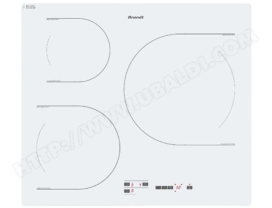 Plaque induction BRANDT TI118W - Ubaldi - 325€ #cuisine