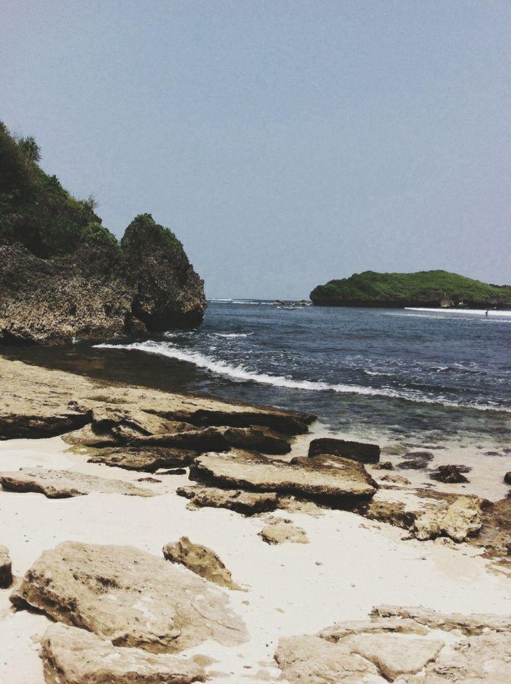Krakal Beach. Yogyakarta.