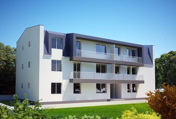 Magnolia Residence - ansamblu rezidential de garsoniere si apartamente de 2 camere in Popesti Leordeni