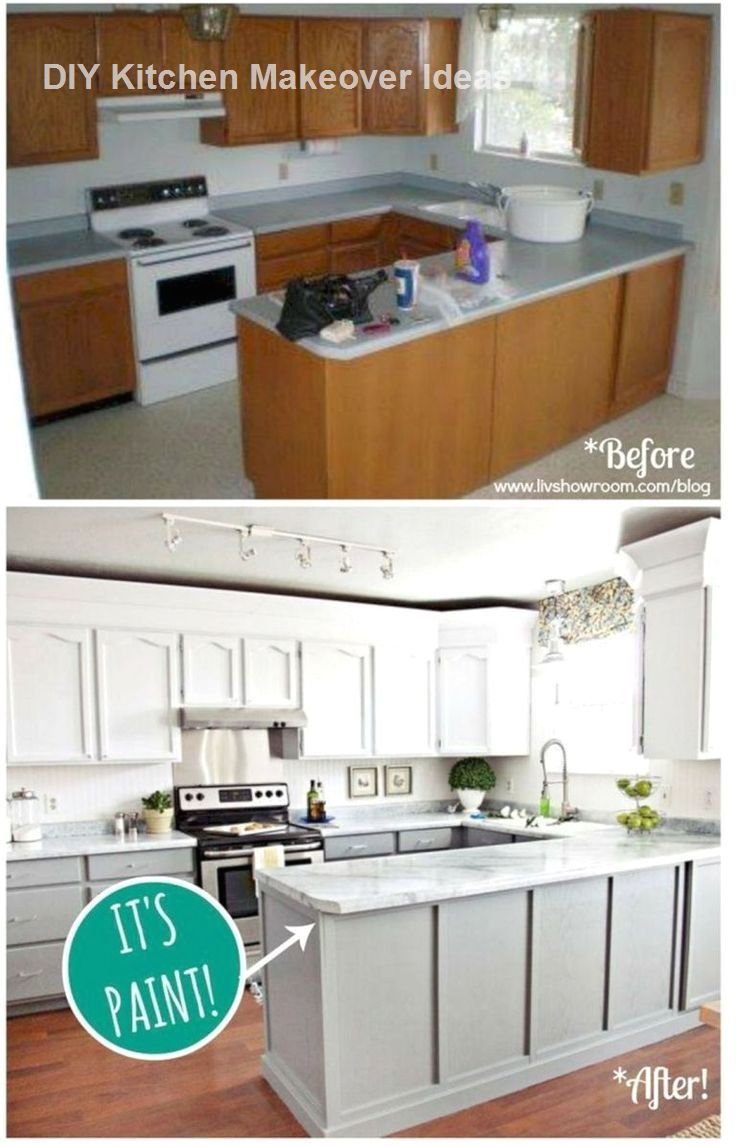 DIY Ideas to Remodel and Makeover Your Kitchen #Kitchenmakeover #Diykitchen