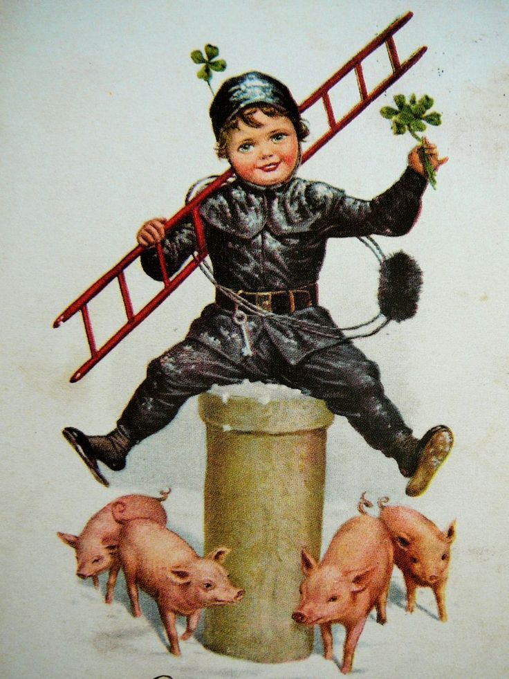 17 Best Images About Chimney Sweep Postcards On Pinterest