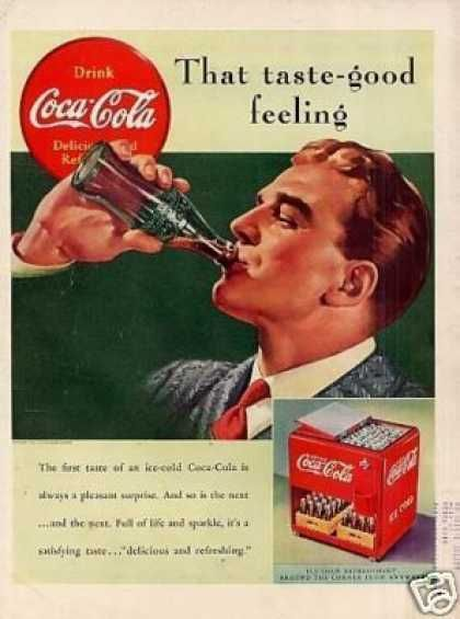 a coca cola advertisement from the 1890s How coca-cola found a home at one of the most famous advertising spots in the world the diet coke story once upon a time, back in 1886, john pemberton invented coca cola and sold it to customers of an atlanta pharmacy.