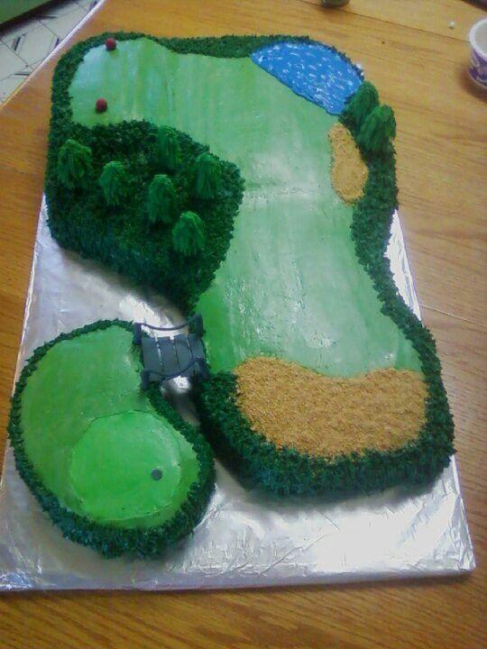 Best 25 Golf course cake ideas on Pinterest  Golf cakes