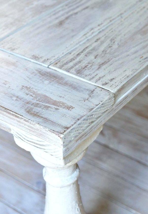 peinture essuyee meuble bois meubles