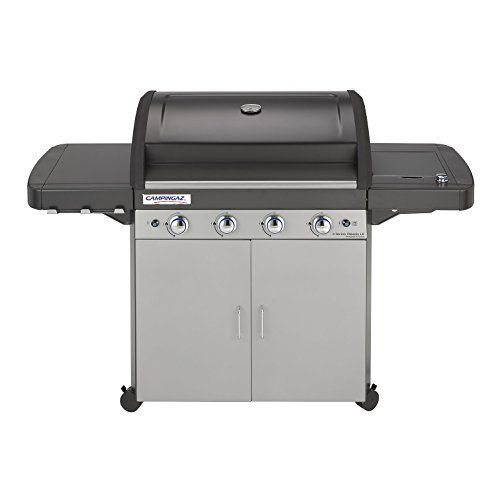 Campingaz Gas BBQ 4 Series Classic LS 89 x 65.5 x 50.5 cm with 4 Burner Barbecue and Side Burner, InstaClean and Culinary Modular System---358.29---