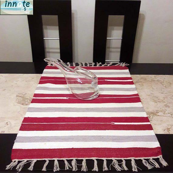 Peruvian table runner peruvian textiles Soho decor peruvian