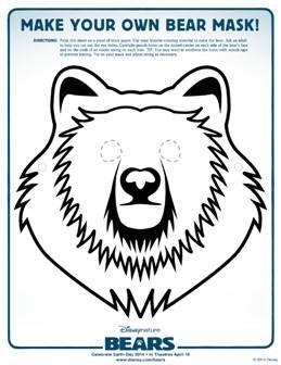 Free Bears Activity Sheets
