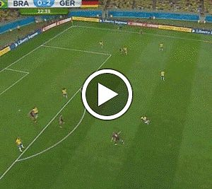VIDEO: #World Cup 2014 semi-final: Germany demolished Brazil 7 - 1!! All Goals!    ... There has never been a World Cup semi-final like this!  http://softfern.com/NewsDtls.aspx?id=896&catgry=9