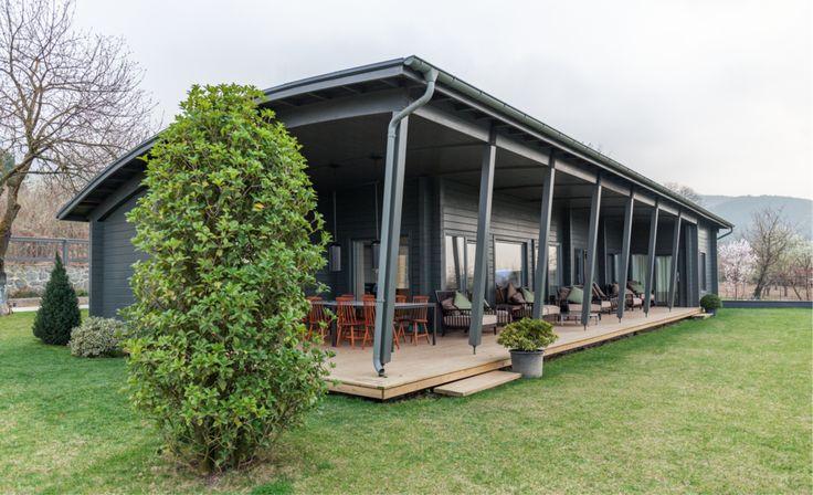 Rekreační srubová chata - Dřevěné sruby, srubové domy, dřevostavby z masivu a roubenky