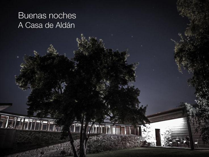 Buenas #noches con #estrellas de A Casa. #hotalrural #casarural