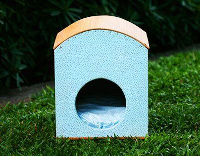 A little cat house.