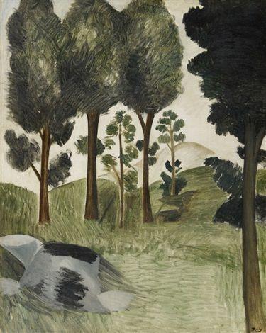 Andres Derain: Les grands arbres (1912)