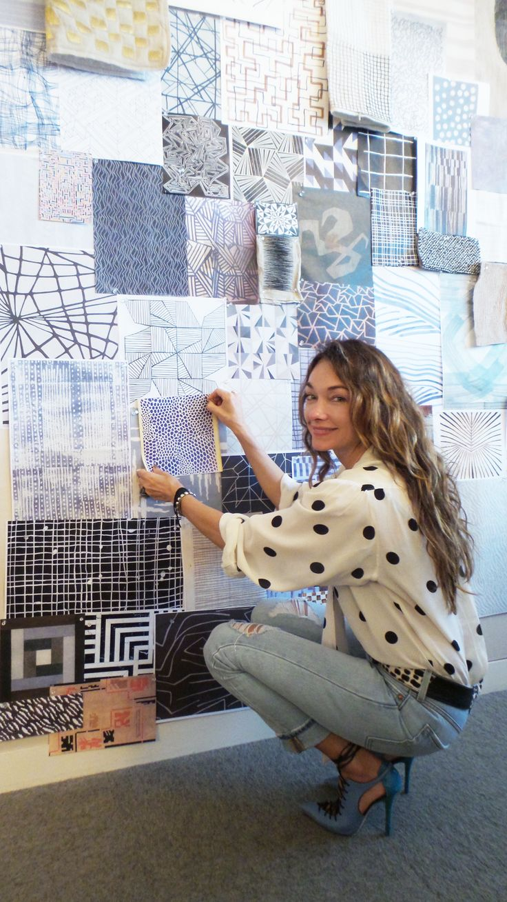 Kelly Wearstler - Designer - At her Los Angeles studio @kellywearstler