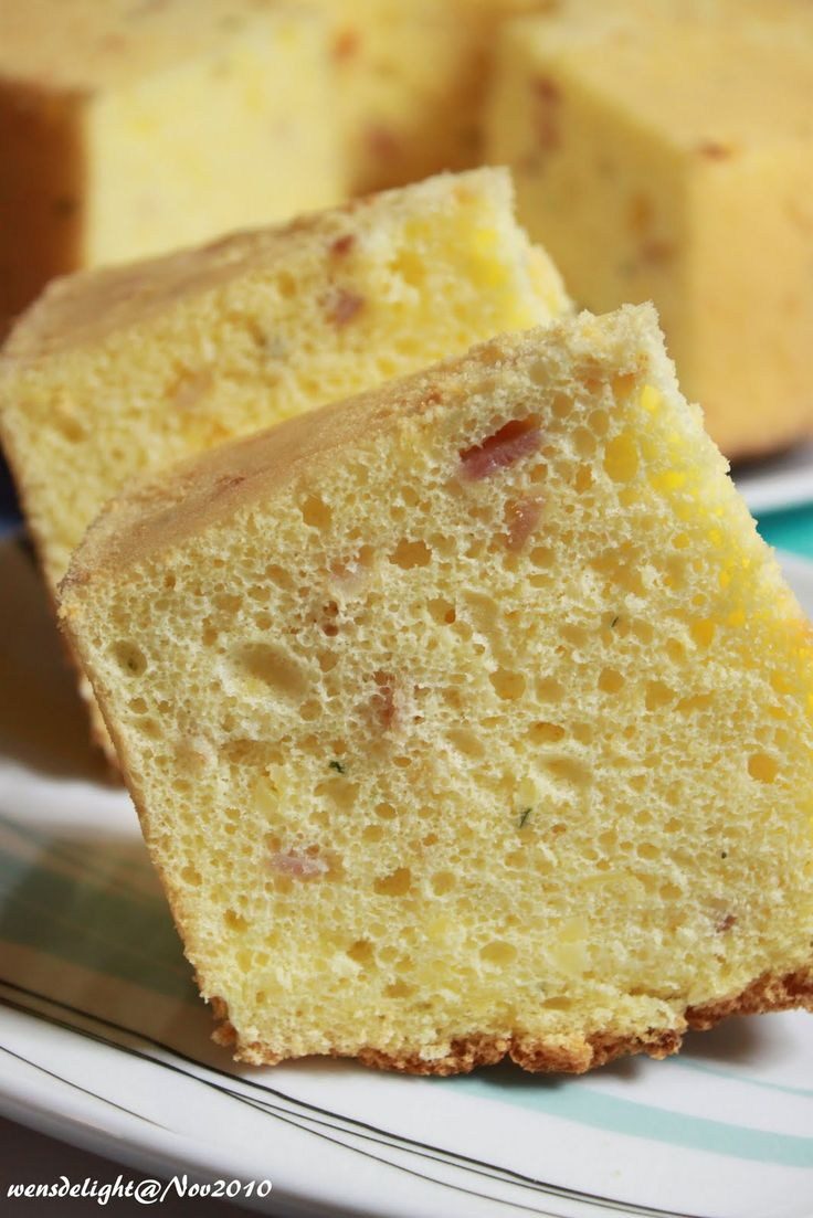 Tried&tested: Ham and Cheese Chiffon Cake