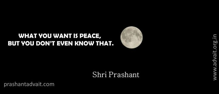 What you want is peace. But you don't even know that. ~ ShriPrashant #ShriPrashant #Advait #peace # knowing Read at:- prashantadvait.com Watch at:- www.youtube.com/c/ShriPrashant Website:- www.advait.org.in Facebook:- www.facebook.com/prashant.advait LinkedIn:- www.linkedin.com/in/prashantadvait Twitter:- https://twitter.com/Prashant_Advait