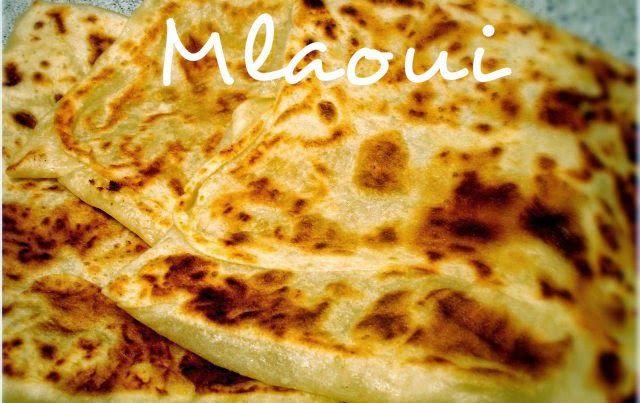 Mangez tunisien: Mlaoui (pain feuilleté tunisien)