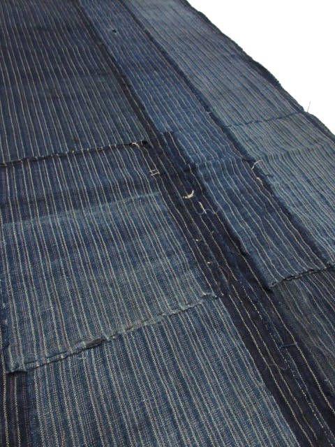 vintage Japanese indigo fabric BORO