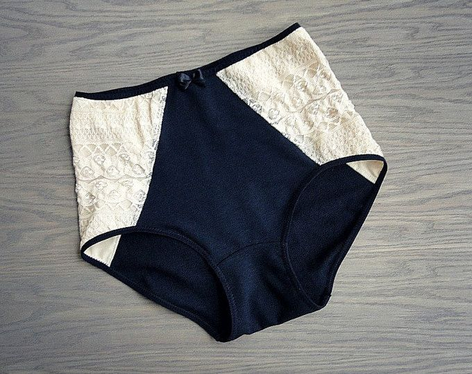 Organic cotton underwear organic lingerie black bralette high