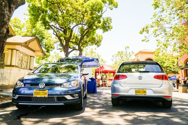 We brought the Volkswagen #Alltrack & #Egolf to Downtown Campbell's BoogieMusic Festival