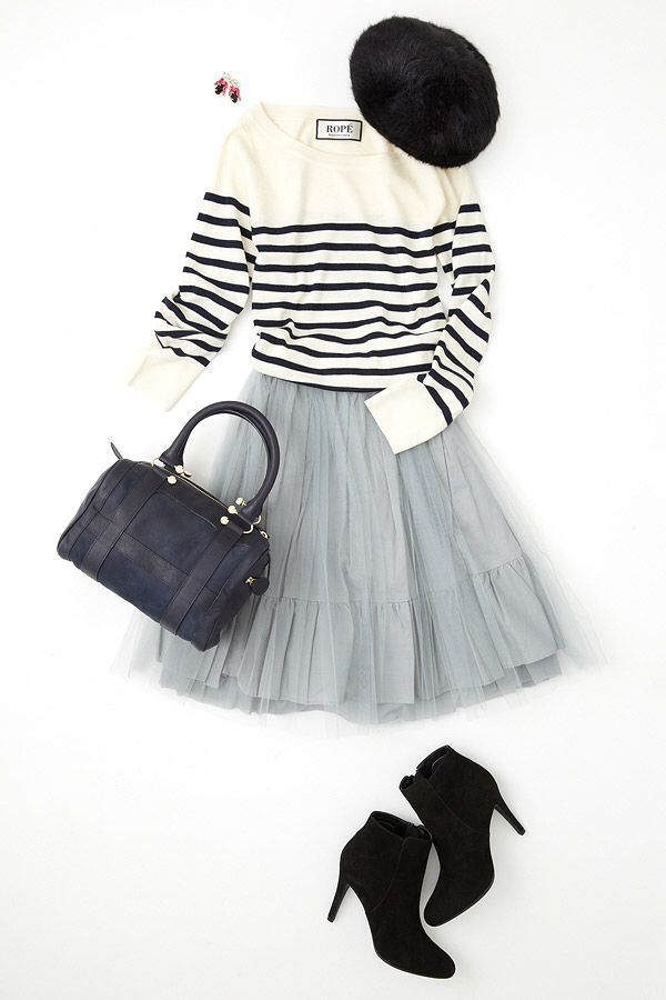 This is how I'm gonna style my new tulle skirt!