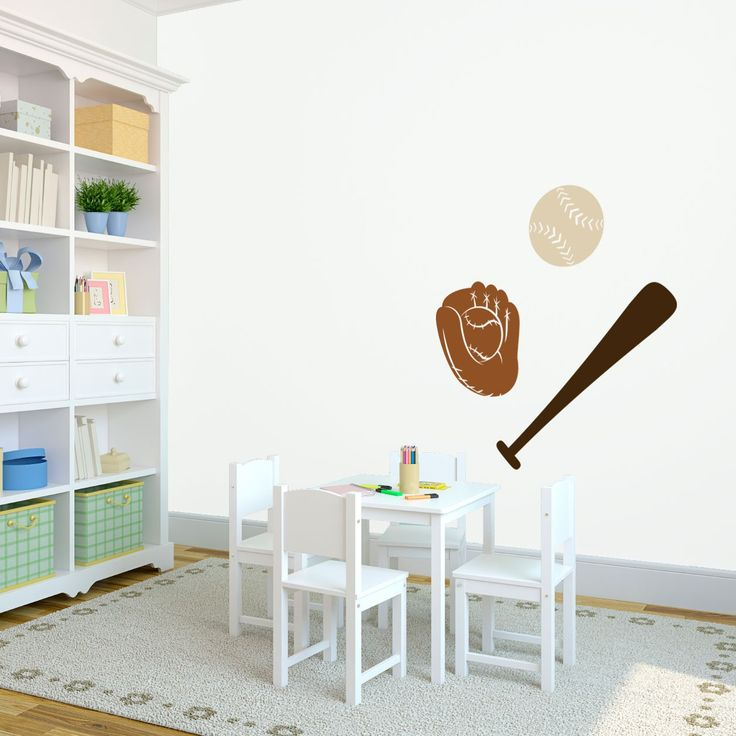 Best Sports Wall Decals Images On Pinterest Sports Wall - Vinyl vinyl wall decals baseball