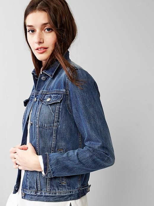 Stitch Fix: I have this 1969 denim jacket... I love to wear it over dresses and top.
