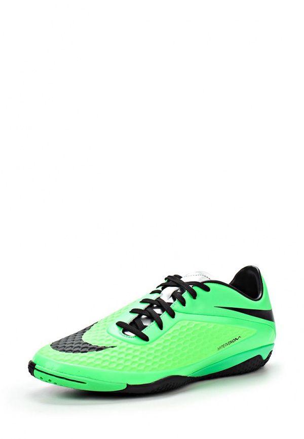 Бутсы зальные Nike / Найк Цвет: зеленый. Материал: текстиль. Сезон: Весна-лето 2014. С бесплатной доставкой и примеркой на Lamoda. http://j.mp/1o0M3zZ