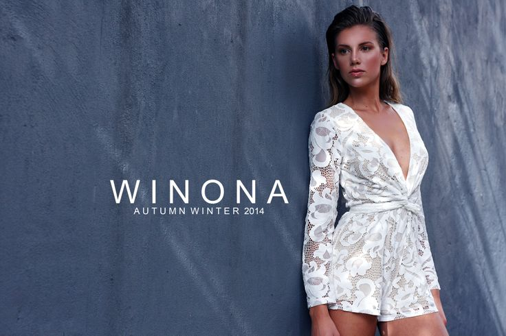 WINONA AUSTRALIA queen of lace playsuit  www.winonaaustralia.com