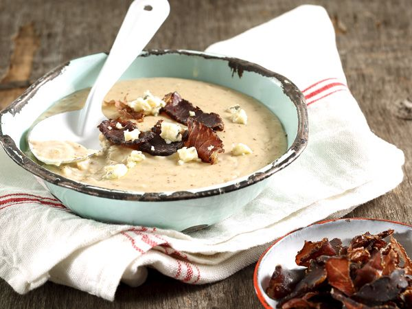 From the YOU test kitchen: Biltong cheese soup