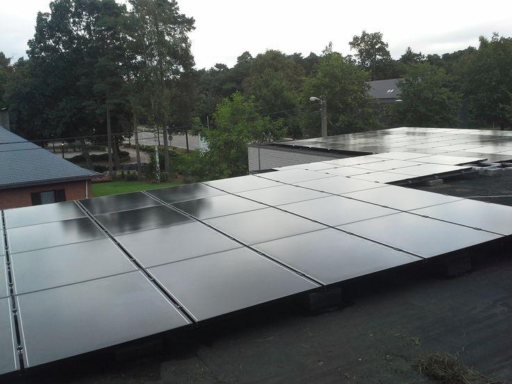 CIS zonnepanelen, de ideale oplossing voor uw plat dak