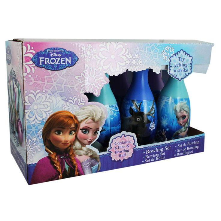 Frozen Bowlingset (19x31cm) #disneyfrozen #annaenelsa #bowling #bowlingset #kegelen