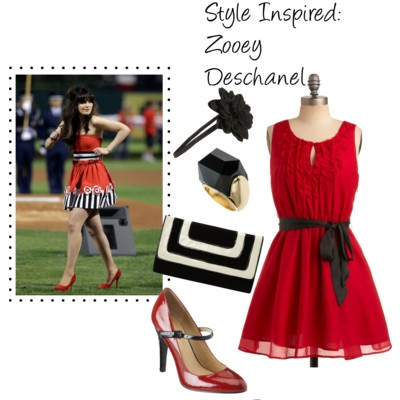 Style Inspired: Zooey Deschanel